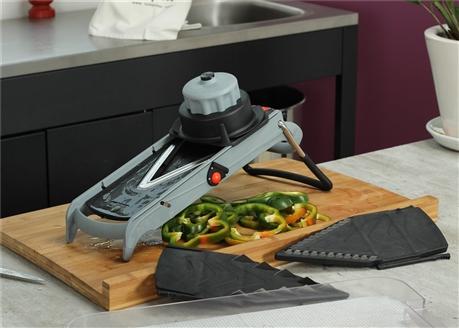 Mandoline cube lame en v tom press - Appareil pour couper les legumes en cube ...