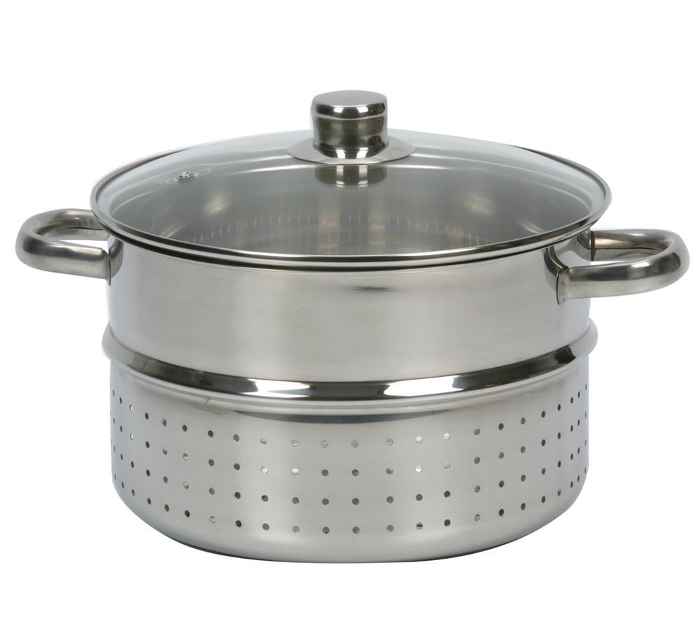 Extracteur de jus vapeur 26 cm induction tom press - Cuit vapeur inox pour gaz ...