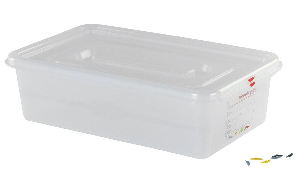 bac plastique tanche gn 1 1 21 l h 15 cm tom press. Black Bedroom Furniture Sets. Home Design Ideas