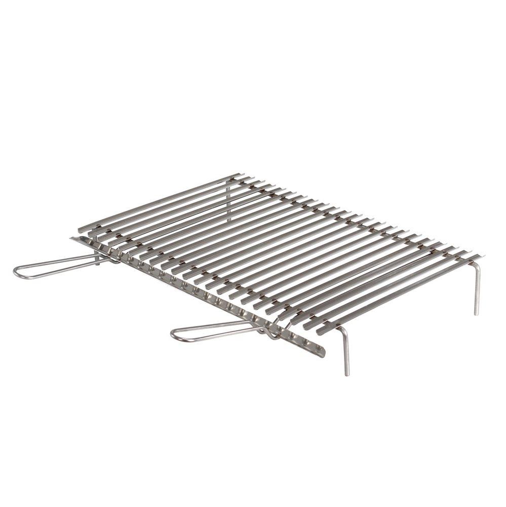 gril inox barbecue avec r cup rateur de graisses de 60x40 cm tom press. Black Bedroom Furniture Sets. Home Design Ideas