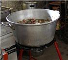 Bassine alu à gras et confiture 62 litres 65 cm