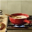 Service à fondue complet rouge Grand Cru Emile Henry