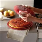 Set tarte tatin céramique rouge Grand Cru Emile Henry