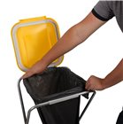 Porte sac poubelle recyclage repliable