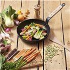 Box poêlée de légumes : poêle 24 cm B Bois De Buyer moulin à épices 14 cm et spatule 30 cm