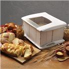 Chambre de pousse pliable pour pain viennoiserie et brioche