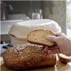 Moule à pain artisan miche et gros pain en céramique blanc Lin Emile Henry