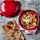 Plat à fromage rôti au four en céramique rouge Grand Cru Emile Henry