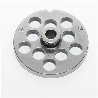 Grille 14 mm pour hachoir n°22