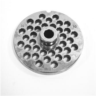 Grille inox 10 mm pour hachoir n°32