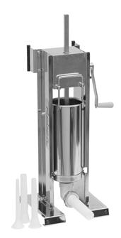 Poussoir à viande vertical/horizontal inox 5 litres Tom Press par Reber