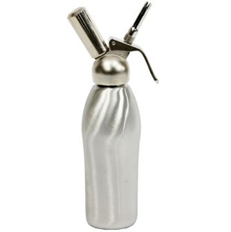 Siphon à chantilly et mousse inox 0,5 l. professionnel