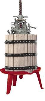 Pressoir hydraulique vis centrale 327 litres