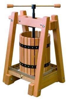 Pressoir en bois de 40 litres