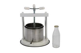 Pressoir à vis 5 litres inox
