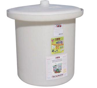 Pot à choucroute en plastique de 25 litres