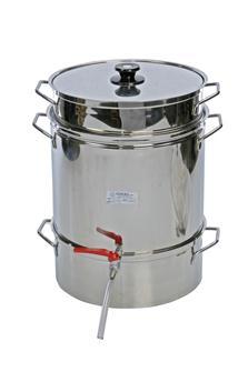 Extracteur de jus à vapeur 24 litres inox