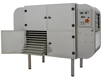 Déshydrateur professionnel inox 40 plateaux 14 m² monophasé 3 500 W