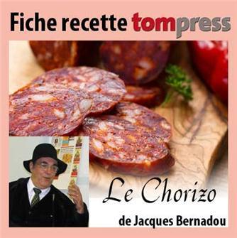 Recette du chorizo de Jacques Bernadou