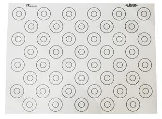 Tapis pâtissier spécial macarons 40x30 cm en silicone