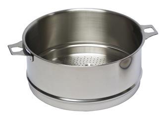 Passoire inox 20 cm pour cuit-vapeur