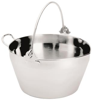 Bassine inox induction 9 l.