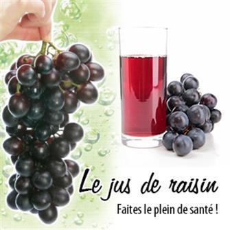 Jus de raisin maison : faites le plein de santé