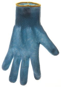 Gant anti-coupure taille 6 liseré jaune