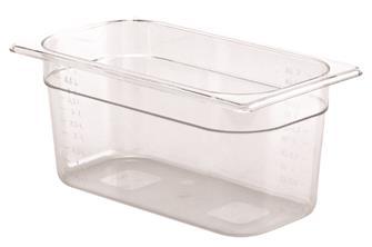Bac gastro sans BPA GN 1/3 h. 15 cm en copolyester