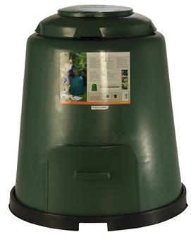Composteur 280 litres avec aération réglable.