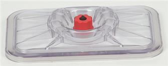 Couvercle de mise sous-vide pour plats rectangulaires de 20x25 cm