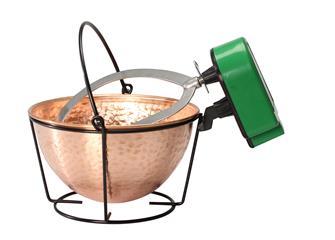 Chaudron en cuivre 3 litres avec mélangeur