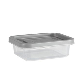 4 boîtes plastique de conservation 9,5x11x5x3 cm