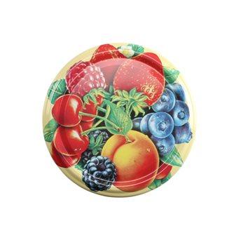 Capsules twist off 82 mm décor fruits par 10