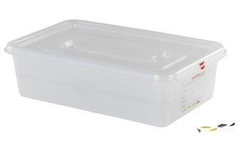 Bac plastique étanche GN 1/1 21 l, h. 15 cm