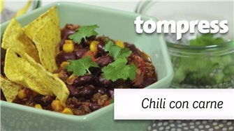 "Recette du chili con carne ""maison"" avec Tom Press"