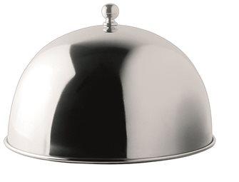 Cloche pour plancha en inox diamètre 24,5 cm