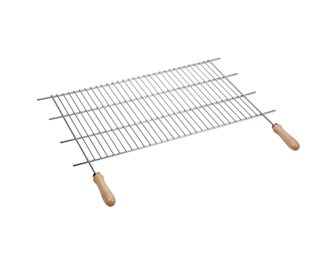 Grille de barbecue ajustable inox 52/62,5x40 cm