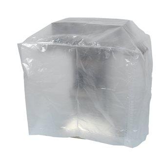 Housse transparente petit barbecue 90x70 cm