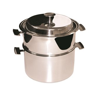 Ensemble de cuisson Baumstal inox induction 16 cm