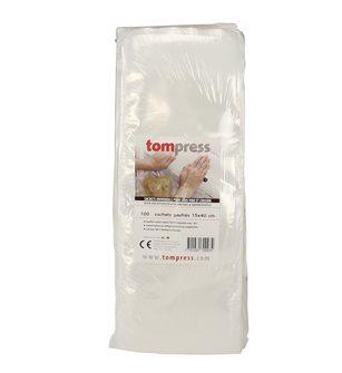 Sachets pour sous-vide Tom Press 15x40 cm par 100