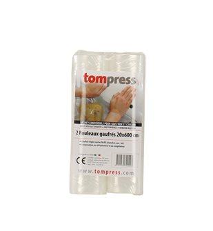 Rouleaux pour sous-vide Tom Press 20x600 cm par 2