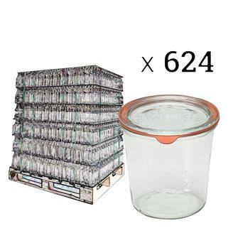 Verrines Weck 580 ml par palette de 624