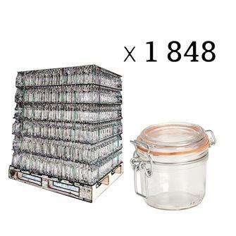 Verrine 200 grammes par palette de 1848