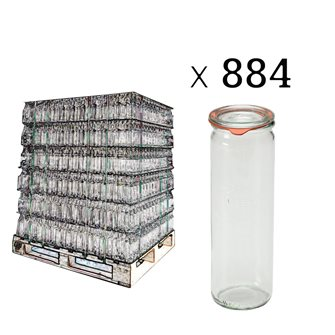 Bocal Weck 1/2 litre spécial asperges par palette de 884