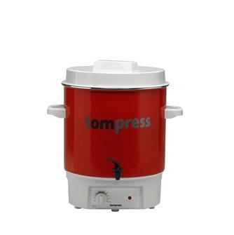 Stérilisateur émaillé électrique à robinet Tom Press