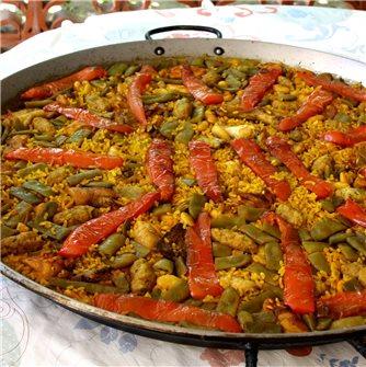Recette de la paella de Castellón