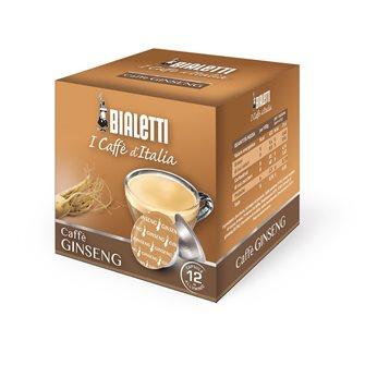 Boite de 12 capsules Bialetti Caffè Ginseng