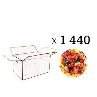 Capsules Twist-off confiture fleurs et fruits Diam 63 par 1440