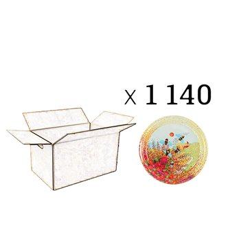 Capsules Twist-off miel Provence Diam 63 par 1440